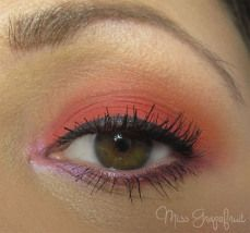 Spring Make Up with products from KIKO Cosmetics and MAC