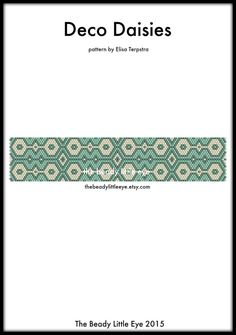 Peyote Patterns  Beading Patterns  Peyote Pattern  Bracelet