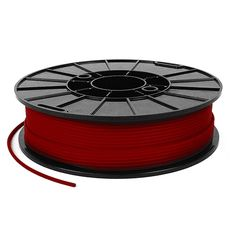 NinjaTek Cheetah Flexible Filament - Fire (Red), 500g, available from Afinia 3D