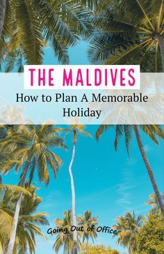 The Maldives is one of the most incredible & amazing islands around the world. Here's a list of things to do, see and pack, so you'll be all set for your paradise vacation. South Korea Travel, Taiwan Travel, China Travel, Maldives Travel, Maldives Trip, Holiday Destinations, Travel Destinations, Travel Route, Countries To Visit