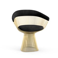 Platner Arm Chair in Gold | Knoll