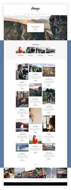 10 temas de WordPress para blogs de moda | Website designs ...