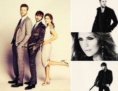 Pieces of lady antebellum's style..