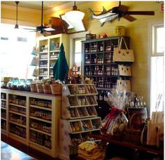 Country store interior designs