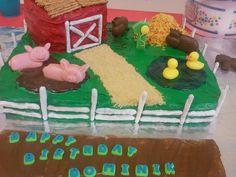 Barnyard / Farm Cake