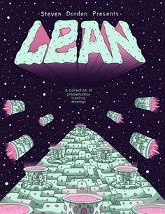 Lean Zine by Steven Darden, via Behance