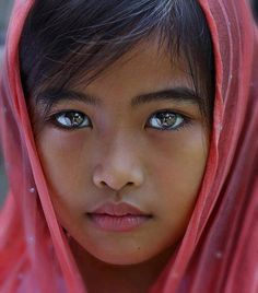 Es la niña mas bella del mundo