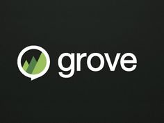 Grove.io helps businesses run their own IRC channels without worrying about installation and archiving, and is designed mainly for developers. Grove's logo is simple, instantly recognisable and the minimalist triangles within the brand mark hints at a forest, while the mark also forms a speech bubble.