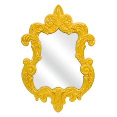 "IMAX IMAX Finely 30"" H x 21"" W Baroque Wall Mirror $87.59"
