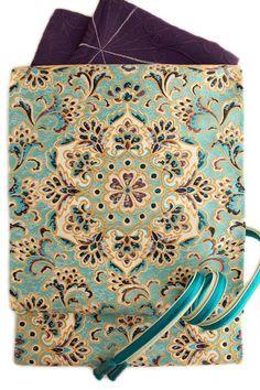 【河合美術織物】特選西陣袋帯「白鳳宝想花華文」水色×金地正絹袋帯名門河合のフォーマル袋帯
