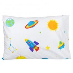 Olive Kids Out of this World 100% Cotton Pillow Case