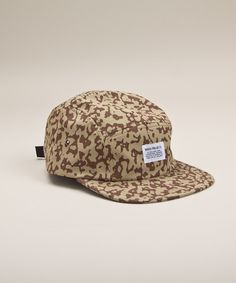 Norse Projects - 5 Panel Printed Camo - Khaki // Indie Clothing Brands & UK Streetwear || AcquireGarms.com