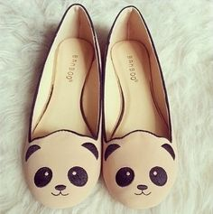 adorables, beautiful, beige, black, chic, clothes, clothing, cool, cute, cuteness, fashion, fashionable, flats, girl, girly, gorgeous, light, love, lovely, panda, photography, pretty, shoes, sleepers, style, trend, trendy, wonderful