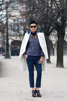 Уличная мода: Стиль Эстер Куэк