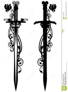 Pix For > Arabian Sword Tattoo