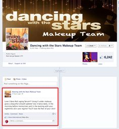 Look what the Emmy Award winning Make-up Team is saying about #Ldara! #creatinghappiness!   https://www.facebook.com/dwtsmakeup