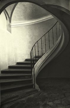 The Winding Stair by soleá, via Flickr #architecture #staircase www.motherofpearl.com