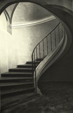 The Winding Stair by soleá, via Flickr