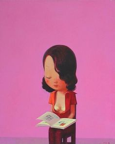 Her New Year's Resolution for 2014 was to finally figure out squares. (Image by Liu Ye)