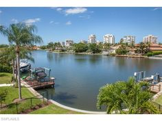 4235 Crayton Rd, Naples, Florida 34103 | view of the bay behind Neapolitan Way and the high rises of Park Shore in the distance.  New Construction in Park Shore - Naples Coastal Contemporary Homes for Sale