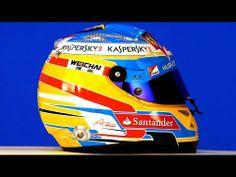 Fernando #Alonso #Ferrari #Formula1 2014 helmet