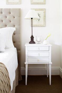 lovely bedroom vignette