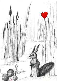 La ardilla y su corazón