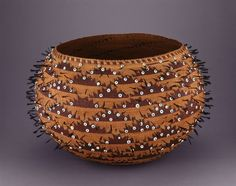 Pomo Wedding Basket, c. 1895 California