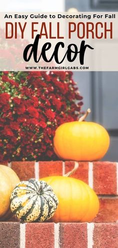 Make your home a show-stopper this fall with these Outdoor Fall Decorating Ideas! Fun ways to decorate your home this fall. These budget-friendly decorating tips will make your home look like a show stopper this fall. Check out these fall front porch decorating ideas.