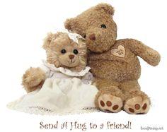 Send your love with a Teddy Bear!  http://www.sendateddy.net/