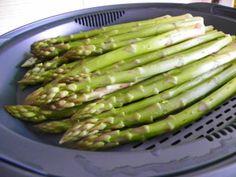 cuisson des asperges au TM
