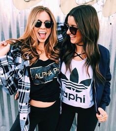 If you're drawn to a more grungy look than preppy, go for it! We want to show that all kinds of people like this apparel