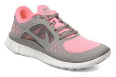 Cute trainers for the gym | Nike wmns nike free run+ 3 grey