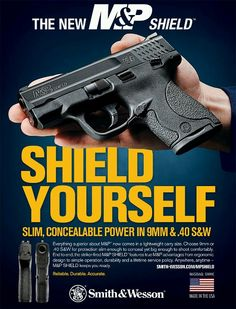 smith and wesson shield, my personal summer carry and a great compact defensive weapon Smith And Wesson Shield, Smith N Wesson, M&p Shield 9mm, M&p 9mm, Striker Fired, Guns And Roses, Fire Powers, Guns And Ammo, Firearms
