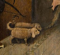 Bosch, Hieronymus The Garden of Earthly Delights, right panel - Detail