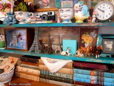 My New Studio by Kim Naumann - Curiouser & Curiouser Designs, via Flickr