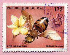 Mali stamp Flickr