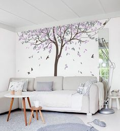 Wandtattoo sind eine einfache und ausgezeichnete Möglichkeit zum Hinzufügen von Farbe und Spannung, ein Spielzimmer, Kinderzimmer, Schlafzimmer oder jeden anderen Raum, der einen Schub braucht.  [WAS IST INKLUSIVE]  1 Wand Baum Aufkleber mit Blätter-ca. 128,7 cm breit x 94,5 cm groß (327cm breit X 240 cm hoch) 7 Vögel 1 installieren Informationen 1 Rakel (Werkzeug)  [FARBE]  Bitte geben Sie Ihre bevorzugten Farben oder fügen Sie eine Notiz an der Kasse. Wenn Farben nicht angegeben werden…