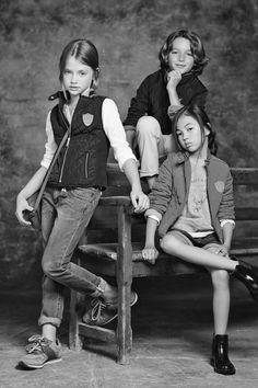 Pre-Fall 2014 Lookbook - Boys & Girls Collection - www.massimodutti.com