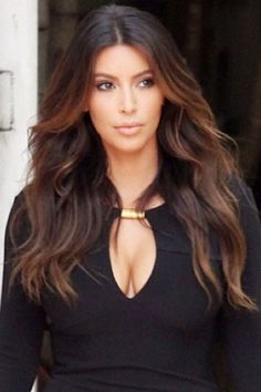Kim Kardashian Rose Gold Soft Ombré.