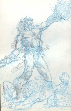 Barry Windsor Smith pencils