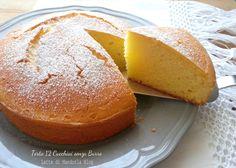 Torta dei 12 cucchiai senza burro, dolce per la colazione senza lattosio e glutine, ricetta della nonna, torta per merenda colazione, facile senza pesare
