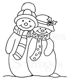 snowman-couple.jpg (886×1051)