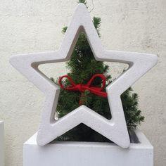 wohnbrise: beton stern, windlicht, weihnachten | beton creation, Gartenarbeit ideen
