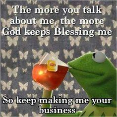 God Keeps Blessing Me
