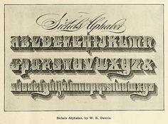 Sickels Alphabet