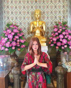 Os looks de Marina Ruy Barbosa em viagem romântica pela Tailândia