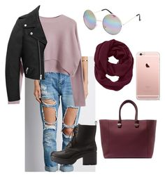 """Untitled #12"" by ludvineabessolo on Polyvore featuring Forever 21, Chicnova Fashion, Yves Saint Laurent, Charlotte Russe, Athleta, Victoria Beckham and Full Tilt"