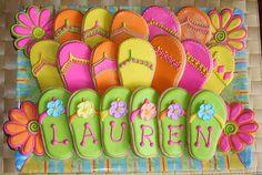 flip flop party theme would be good for @Lauren Davison Davison DeCristofaro