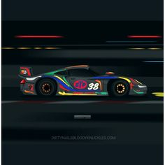 I messed up! I had the wrong prices on the site for prints of the 996 GT1 EVO so anyone who. Ordered it already will be getting a refund of the difference. My bad! Also here's a special night race version of the artwork also available in prints at the site!  Dirtynailsbloodyknuckles.com  Link in profile  #porsche #911 #porsche911 #porscheart #gt1 #911gt1 #996 #996gt1 #championmotorsport #championmotorsports #porsche911 #993gt1 #993911 #porscheart #porschefans #porschemotorsport #motorsport…